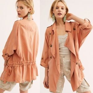 NWOT Free People the Lea jacket. Size S.